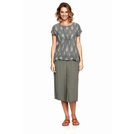 Masai Clothing Pemka Culotte Trouser - Green