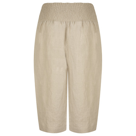 Masai Clothing Paila Natural Culotte Trousers - Beige