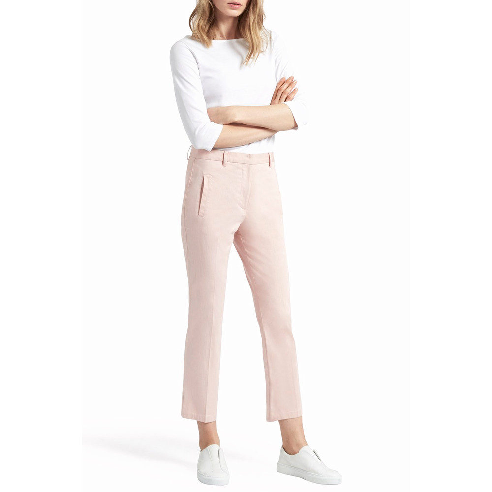 Great Plains Suki Stretch Crop Flare Trouser Shell Pink