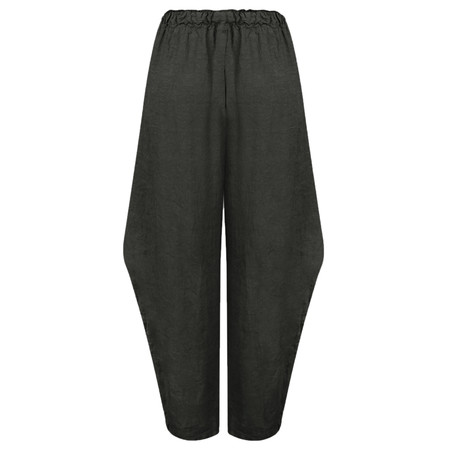 Arka Maegan Linen Trousers - Black