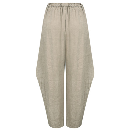 Arka Maegan Linen Trousers - Brown