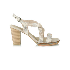 Marco Tozzi Floral High Sandal