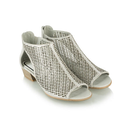 Tamaris  Cloud Leather Sandal Shoe - Green