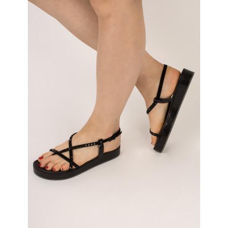 Kennel Und Schmenger Neo Viper Crystal sandal - Black