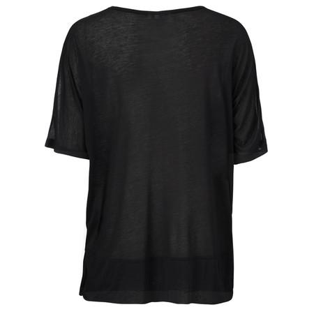 Masai Clothing Dilys oversize top  - Black