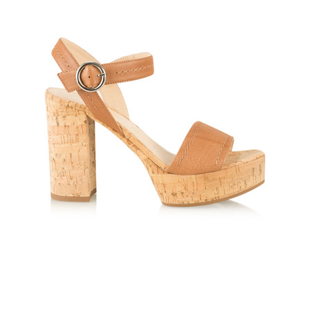 Unisa Shoes Voros Platform Sandal - Brown