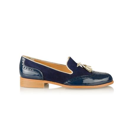HB Shoes Logan Trend Lofa - Blue