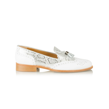 HB Shoes Logan Trend Loafer - White