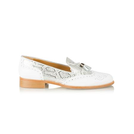 HB Shoes Logan Trend Lofa - White