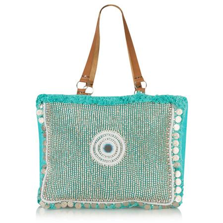 AlexMax Alessia Handbag - Turquoise