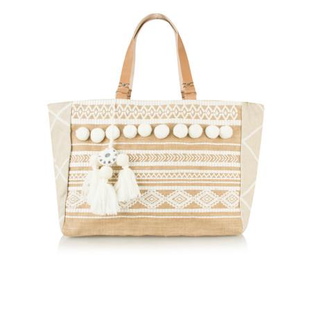 AlexMax Cristina Handbag - White