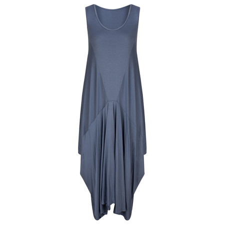 TOC  Dilly Sleeveless balloon maxi dress - Blue