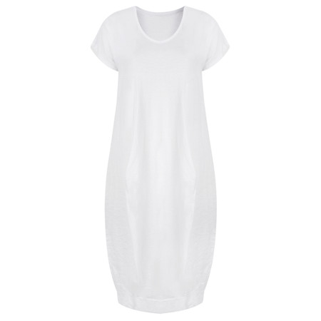 TOC  Dana Shortsleeve easyfit dress - White