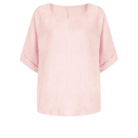 TOC  Bettina Linen  Top - Pink