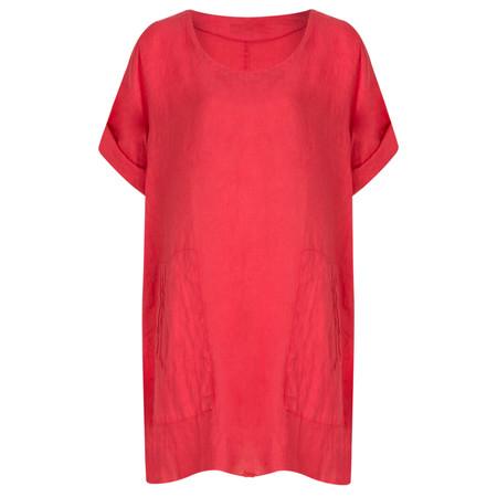TOC  Bertie Linen Tunic Top - Orange