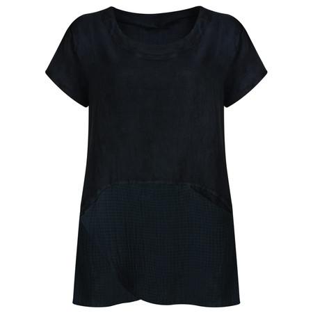 TOC  Belinda Linen Tunic Top - Blue