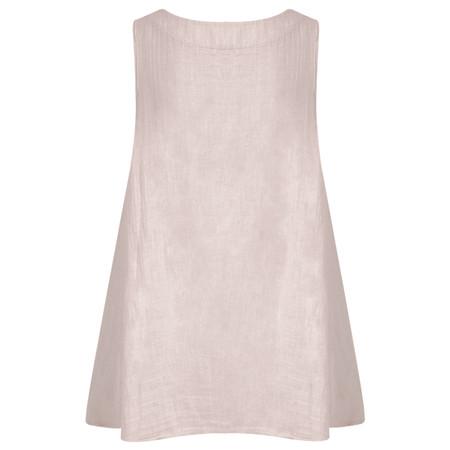 TOC  Becci Linen silk sleeveless top - Pink