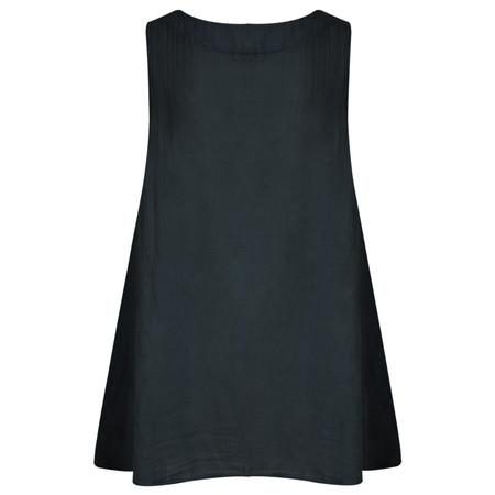 TOC  Becci Linen silk sleeveless top - Blue