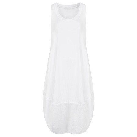 TOC  Demi Easyfit Jersey Dress - White