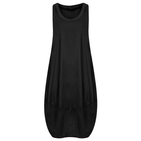 TOC  Demi Easyfit Jersey Dress - Black