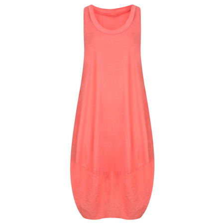 TOC  Demi Easyfit Jersey Dress - Orange