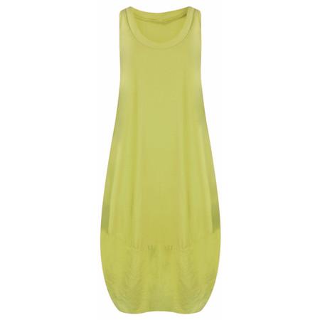 TOC  Demi Easyfit Jersey Dress - Green