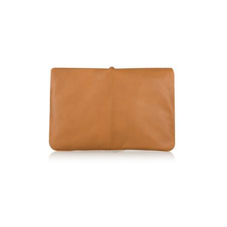Unisa Shoes Zbitia Leather Handbag with Tassell - Brown