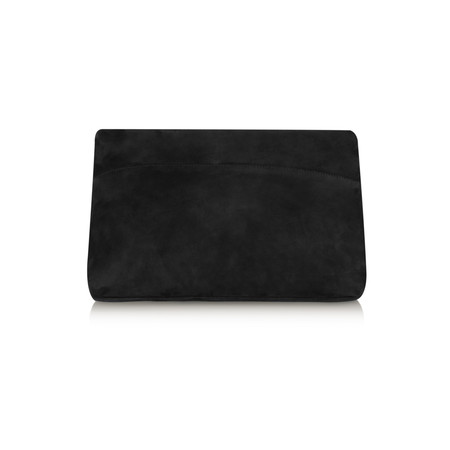 Unisa Shoes Zgrisel Suede Clutch Bag - Black