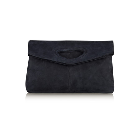 Unisa Shoes Zgrisel Suede Clutch Bag - Blue