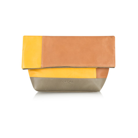 Unisa Shoes Zmani Multi Colour Bag - Brown