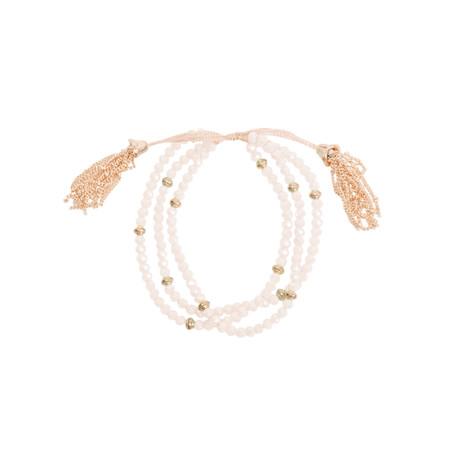 AlexMax Ornella Multi Bead Bracelet  - Pink