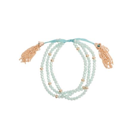AlexMax Ornella Multi Bead Bracelet  - Blue