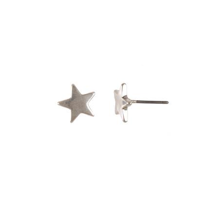 Hult Quist  Star Earrings  - Metallic