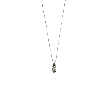 Hult Quist  Pineapple Short Necklace - Metallic