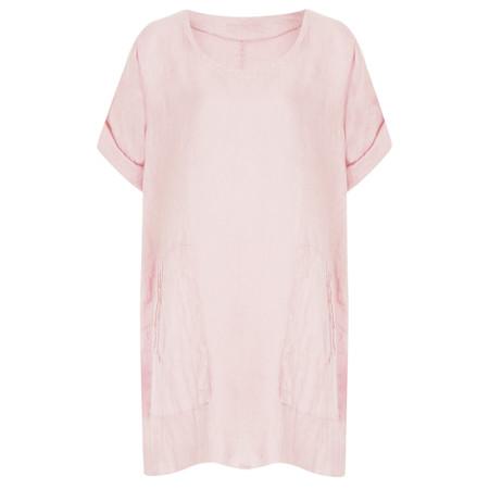 TOC  Bertie Linen Tunic Top - Pink