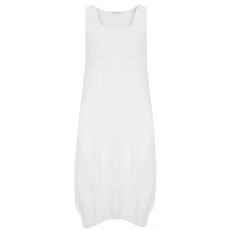 TOC  Demelza Linen Dress - White