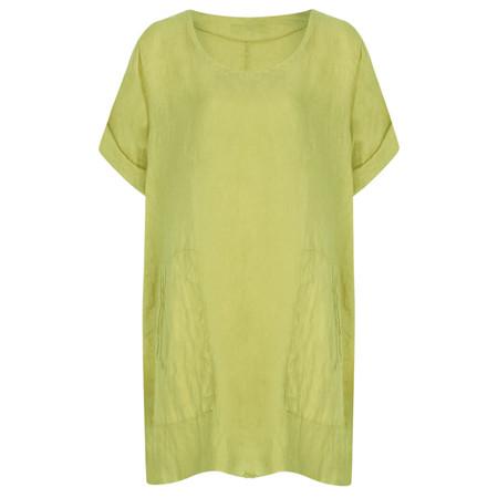 TOC  Bertie Linen Tunic Top - Green