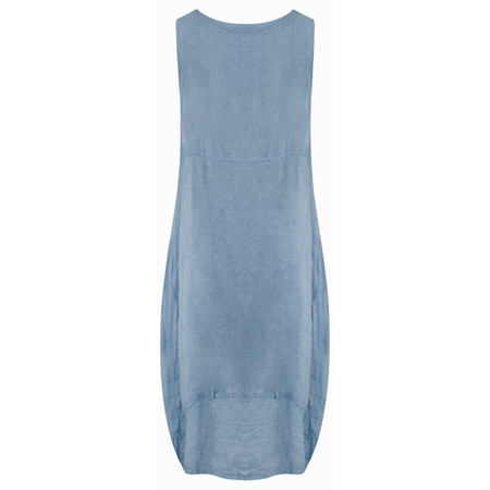 TOC  Demelza Linen Dress - Blue