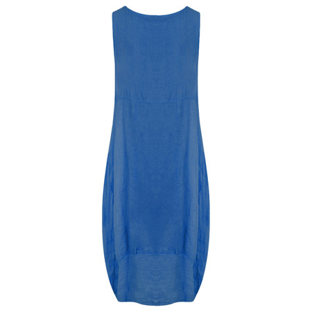 TOC  Demelza Linen Dress - Blue