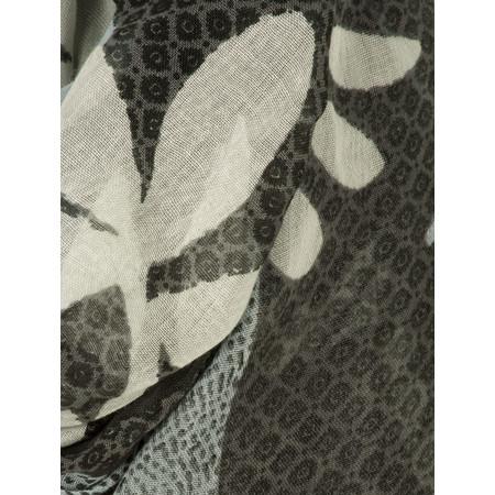 Sandwich Clothing Printed Woven Scarf - Grey
