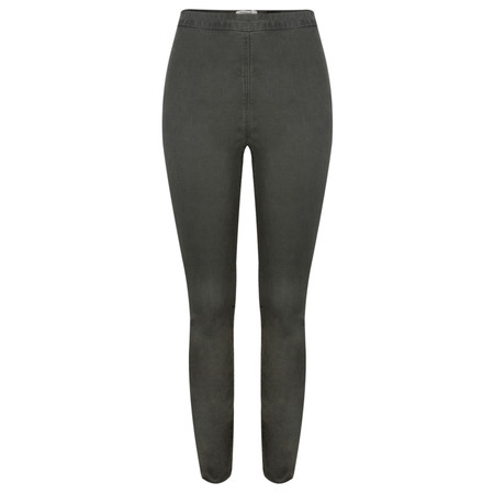 Sandwich Clothing Stretch Twill side Zip Treggings - Grey