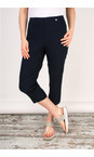 Robell Trousers Navy Marie 07 Cropped Trouser