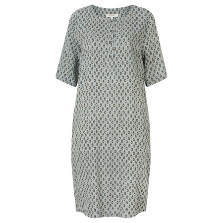 Sandwich Clothing Tiger Dot Print Dress - Grey