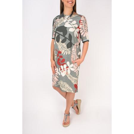 Sandwich Clothing Printed Woven Shift Dress - Grey