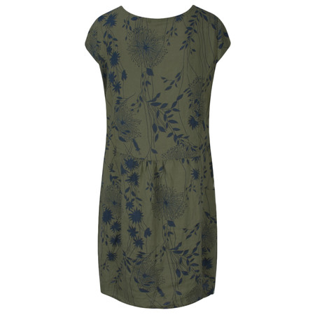 TOC  Daisy Printed Linen Dress  - Beige