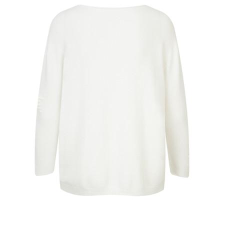 TOC  Jodey Multi Star Knit - White