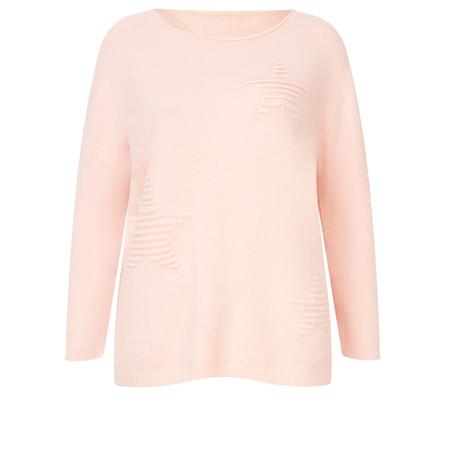 TOC  Jodey Multi Star Knit - Pink