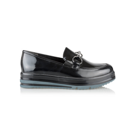 Tamaris  Esther Chunky Loafer - Black