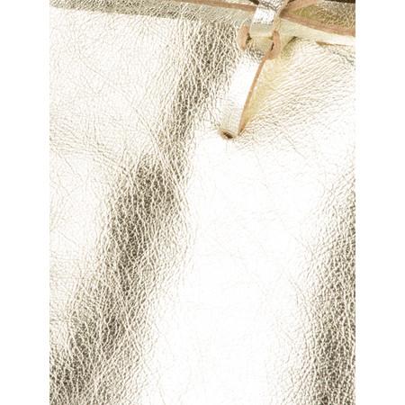 Gemini by PWA  Ribera Metallic Leather Tote Bag - Metallic