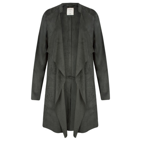 Sandwich Clothing Immitation Suede Jacket - Grey